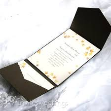 wedding invitation pocket envelopes pocket invites wedding simplo co