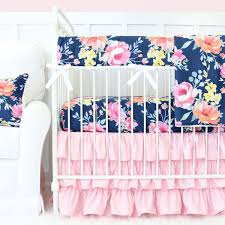 pink crib bedding caden lane