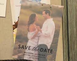 affordable save the dates custom save the date etsy