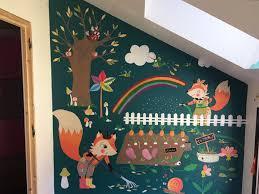 fresque murale chambre fresque murale chambre d enfants ève annecy décorative jardinage