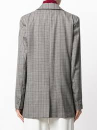 cavallini frames erika cavallini checked blazer jacket 594 buy aw17 online