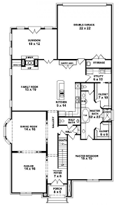 house plans with keeping rooms 654247 3 bedroom 2 5 bath french country house plan house