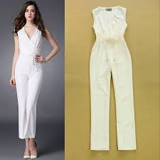 white formal jumpsuit sandi pointe library of collections