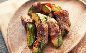Bacon Main Dishes - bacon wrapped avocado paleo leap