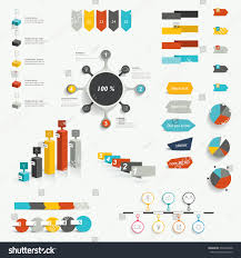 set infographic elements diagrams speech bubbles stock vector set of infographic elements diagrams speech bubbles graphs pie circle charts and