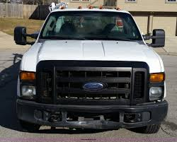 2008 Ford F350 Utility Truck - 2008 ford f350 super duty utility truck with crane item k5