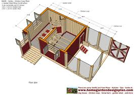 House Barn Combo Floor Plans by Home Garden Plans Cb200 Combo Plans Chicken Coop Plans