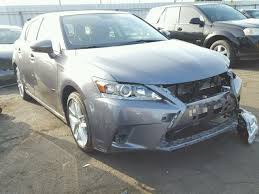 lexus is 200 for sale 2017 lexus ct 200 for sale ca nuys salvage cars copart usa