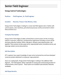 Resume Examples For Oil Field Job by It Job Description Energycontroltechnologies Com Field Engineer