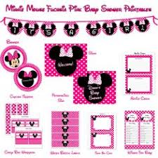 minnie mouse baby showed favors ideas 1st birthday