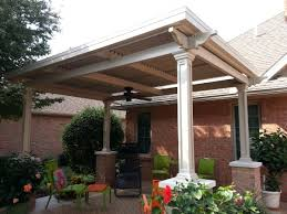 Simple Patio Cover Designs Remarkable Simple Patio Cover Ideas Home Exterior Design Style
