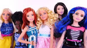6 barbie fashionistas doll evolves 2016 mattel barbies