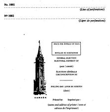remuneration bureau de vote canada elections act