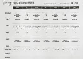jenny craig menumenu world menu world