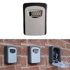 digital key lock box wall mount car key safe ebay
