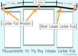 Decorative Rods For Curtains Best 25 Window Curtain Rods Ideas On Pinterest Bay Window