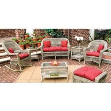 sunbrella wicker furniture replacement cushions