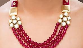 make necklace with stone images Semi precious stone gemstone jewelry in india types designs jpg