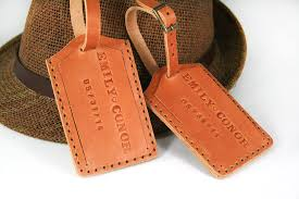 unique luggage tags engraved leather luggage tags 25 unique leather luggage tags ideas