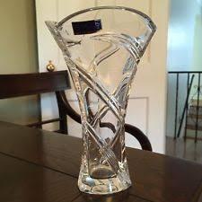 Vintage Waterford Crystal Signed 8 Inch Flower Vase In Waterford Marquis Vase Ebay