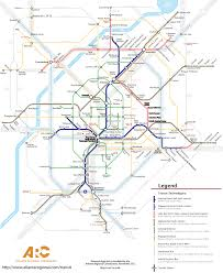 Boston Metro Map by A Cool Concept Map For A Futuristic Rail Network For Detroit
