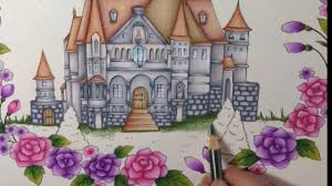 tutorial part 3 romantic country coloring book color with me