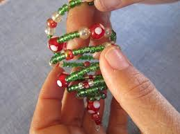 miss abigail s chest tutorial spiral beaded tree