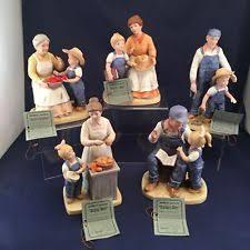 Home Interiors Figurines Homco Home Interiors Figurines Four Ebay