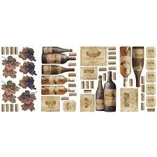 roommates rmk1257scs wine tasting peel u0026 stick wall decals