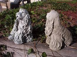 beautiful statues cocker spaniel statue