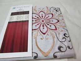 Burgandy Shower Curtain Saturday Knight Limited Dillon Fabric Shower Curtain Burgundy