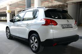 peugeot dubai peugeot 2008 review hatching dreams grow up drivemeonline com