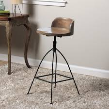 iron bar stools iron counter stools wood and iron counter stools look 4 less and steals and deals