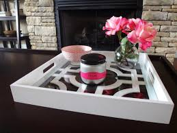 square tray for coffee table modern square coffee table tray with glass top and painted with