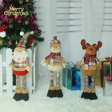festival decorations christmas extendable standing doll toy x u0027mas party decorations