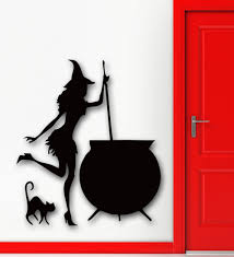 halloween witch pot compare prices on witch decal online shopping buy low price witch