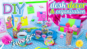 diy desk decor and organization ideas in candy style u2013 how to make