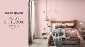 july 2017 color of the month rosy outlook sherwin williams