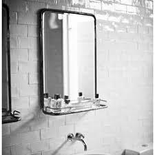 tablette avec miroir edith shelves brass mirror and urban