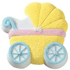 baby carriage cake baby buggy cake wilton
