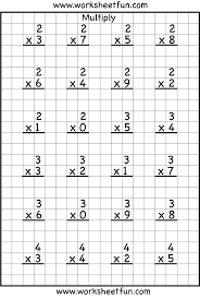 Multiplication Facts Practice Worksheets 317 Best Maths Timestables Images On Pinterest Times Tables