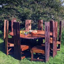 Arthur Reclaimed Teak Dining Table  Chairs - Reclaimed teak dining table and chairs