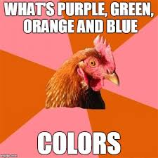 Orange Memes - anti joke chicken meme imgflip