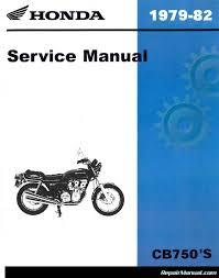 1979 u2013 1982 motos honda cb750 manual de servicio 800 426 4214 ebay