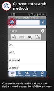 meriam webster dictionary apk app the merriam webster dictionary apk for smart