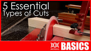 What Type Of Saw To Cut Laminate Flooring 5 Basic Woodworking Cuts You Need To Know How To Make