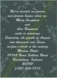 wording for wedding invitations wedding invitations for second marriages search wedding