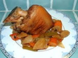 cuisine jarret de porc jarret de porc caramélisé recette ptitchef