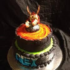 skylander giants cake trigger happy cake by beth78148 cakesdecor