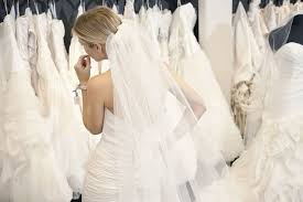 wedding dresses shop women are offering their wedding dresses to brides after